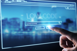 what is low code development
